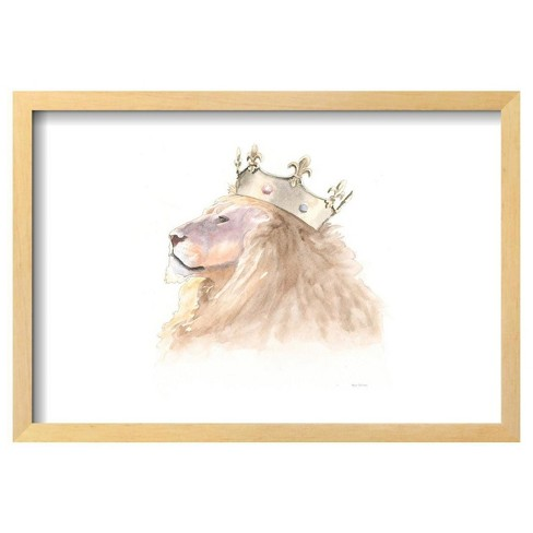 "Jungle Royalty I Crop By Myles Sullivan Framed Poster 19""X13"" - Art.Com - image 1 of 4"