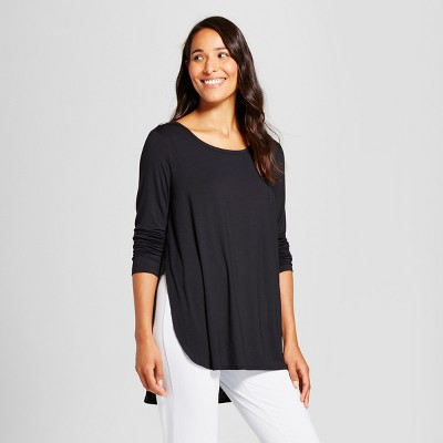 Maternity Nursing Sleep T-Shirt - Gilligan & O'Malley™ Black XS