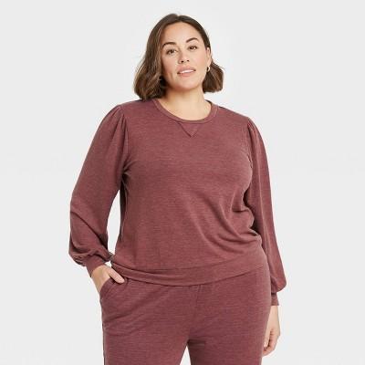 Women's Puff Sleeve Sweatshirt - Knox Rose™