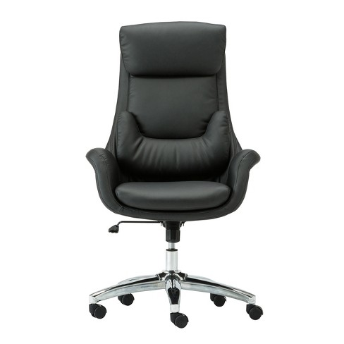 Ergonomic Home Office Chair With Lumbar Support Black Techni Mobili Target