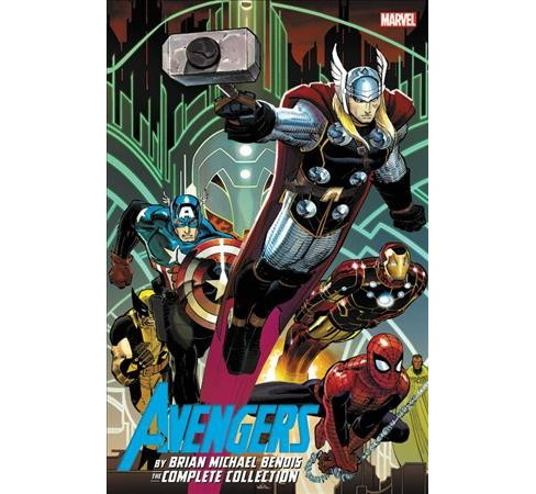 Avengers by Brian Michael Bendis The Complete Collection 1 (Paperback) - image 1 of 1
