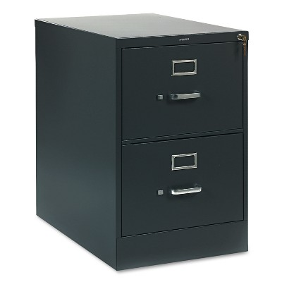 HON 310 Series Two-Drawer Full-Suspension File Legal 26-1/2d Charcoal 312CPS