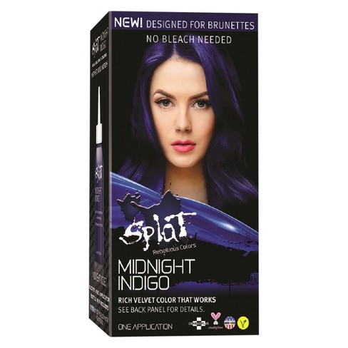 Splat Midnight Hair Color Indigo 6 0oz
