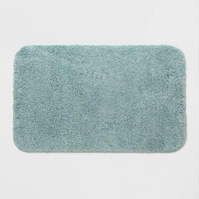 """23""""x37"""" Perfectly Soft Bath Rug Dusty Green - Opalhouse™"""