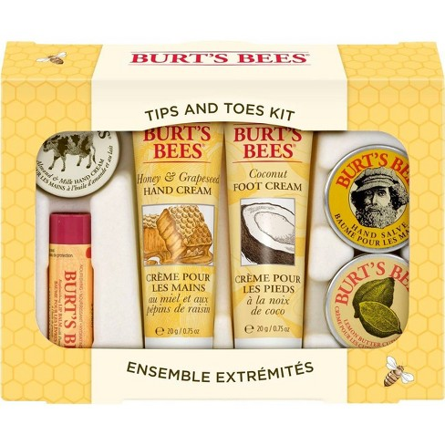 Burts Bees Tips and Toes Kit - 6ct - image 1 of 4