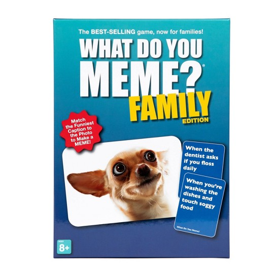 What Do You Meme? Family Edition Game image number null