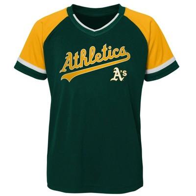 MLB Oakland Athletics Boys' Pullover Jersey