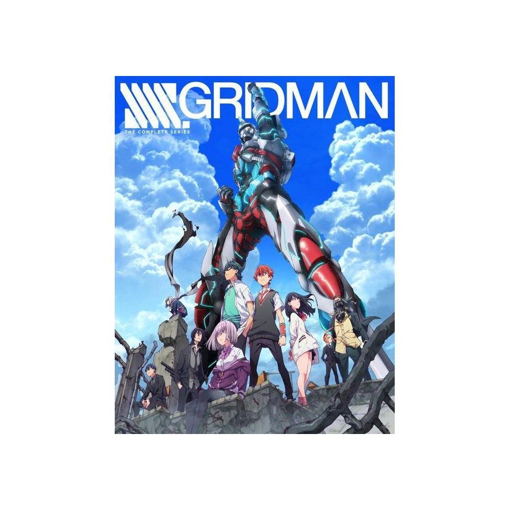 Ssss Gridman The Complete Series Blu Ray 2020