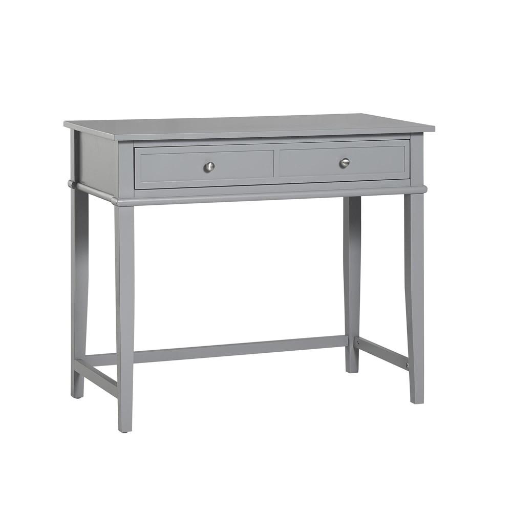 Durham Writing Desk Gray - Room & Joy