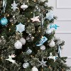4ct Glitter Animals with Antlers and Party Hats Christmas Ornament Set - Wondershop™ - image 2 of 2