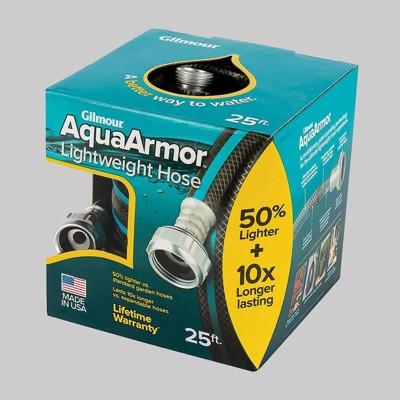 Gilmour 25' AquaArmor Lightweight Hose Blue