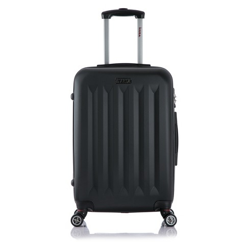 "InUSA Philadelphia 23"" Hardside Spinner Suitcase - Black - image 1 of 5"