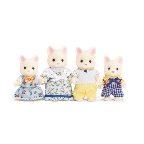 LI/'L WOODZEEZ TIPPYTAILS RED FOX FAMILY CHILD FIGURE BROTHER SON CALICO CRITTERS