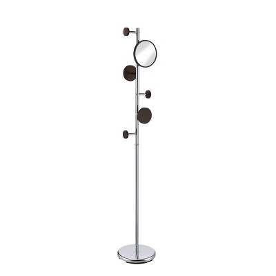 Milano Coat Rack Silver - Proman Products