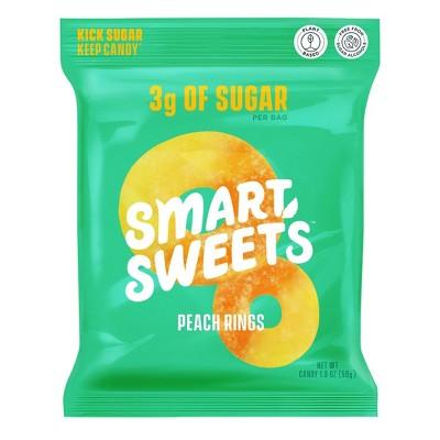 SmartSweets Peach Rings - 1.8oz