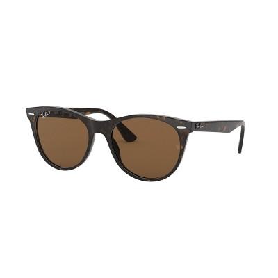 Ray-Ban RB2185 55mm Unisex Round Sunglasses Polarized