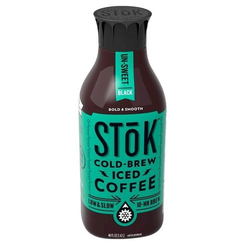 SToK Un-Sweet Black Cold Brew Iced Coffee - 48 fl oz - image 1 of 1