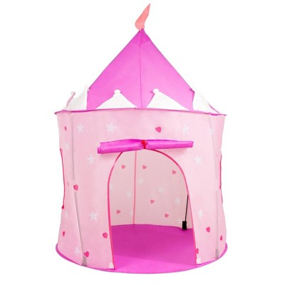 Hey! Play! Indoor/Outdoor,Pop Up Playhouse - Princess Castle