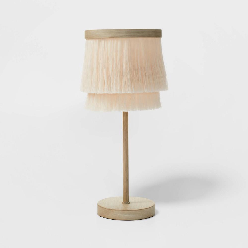 Fringe Table Lamp Gold Pillowfort 8482