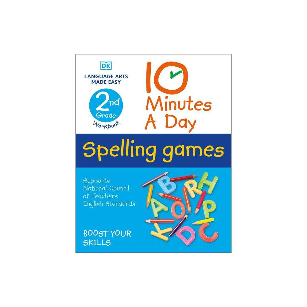 10 Minutes A Day Spelling Games 2nd Grade Paperback