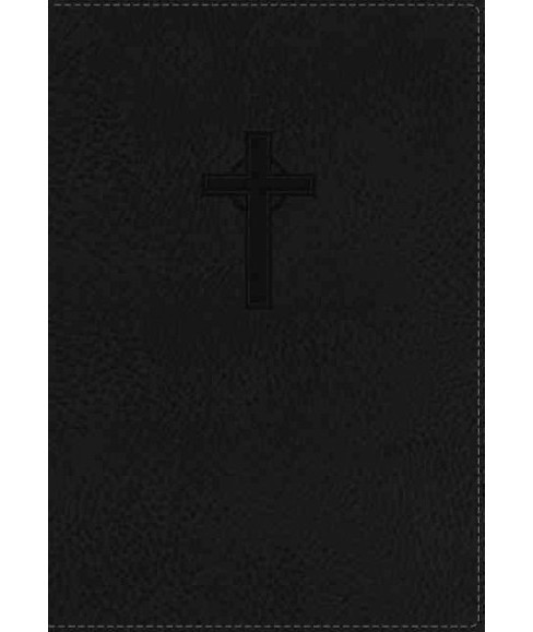 Holy Bible : New King James Version, Black, Imitation Leather, Red Letter Edition, Ultraslim Reference - image 1 of 1