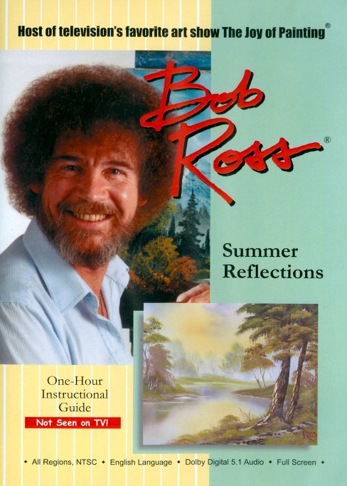 Bob ross:Joy of painting summer refle (DVD) - image 1 of 1