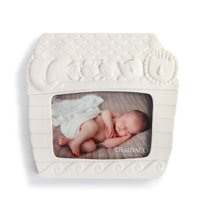 DEMDACO Noah's Ark Frame 9 x 8 - White