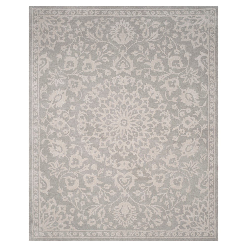 Best Price 9X12 Medallion Area Rug GraySilver Safavieh