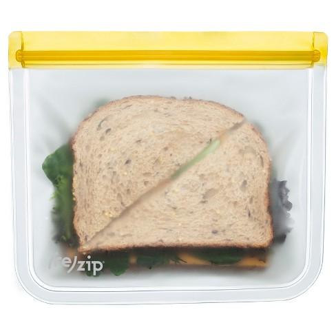 Re Zip Lay Flat Leak Proof Reusable Lunch Bag 5ct Target