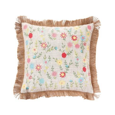 C F Home 16 X 16 Wildflower Pillow Target