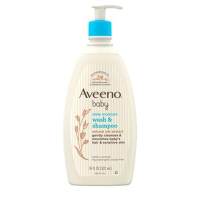 Aveeno Baby Wash and Shampoo - 18 fl oz