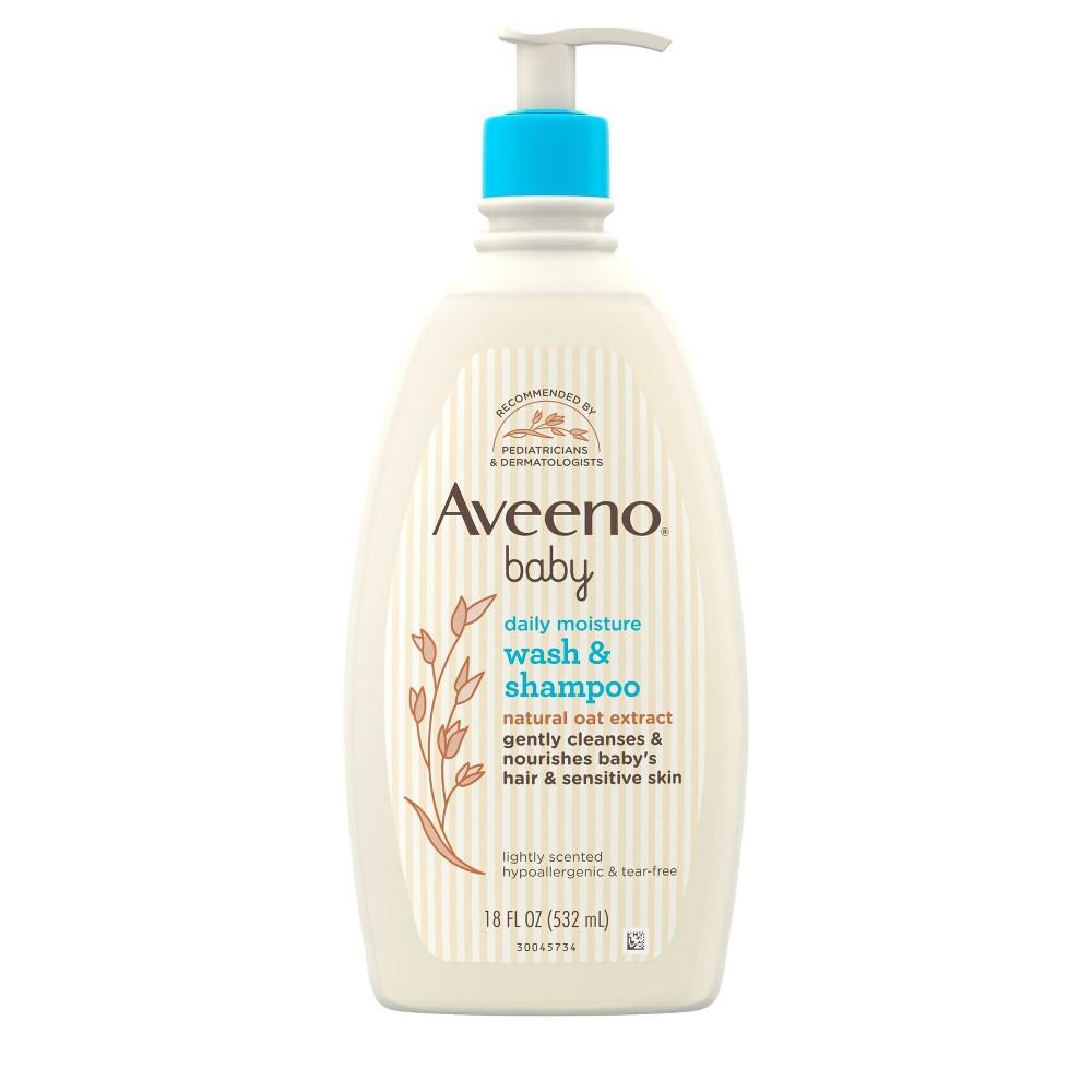 Aveeno Baby Wash And Shampoo 18 Fl Oz