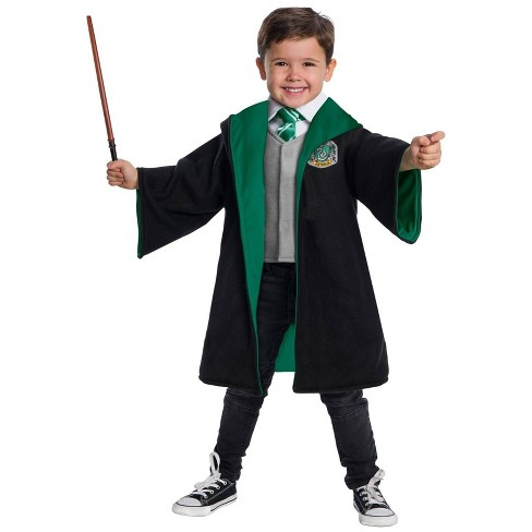 Toddler Harry Potter Slytherin Student Halloween Costume - image 1 of 1