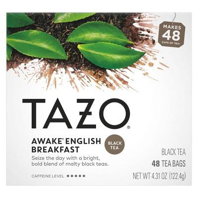Tazo Awake English Breakfast Tea - 48ct