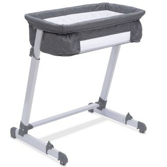 Simmons Kids' By The Bed City Sleeper Bassinet - Gray Tweed