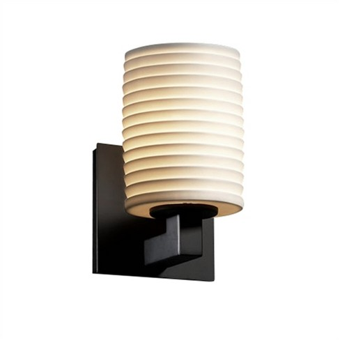 """Justice Design Group POR-8921-10-SAWT Limoges Single Light 7-3/4"""" Tall Wall Sconce - image 1 of 1"""
