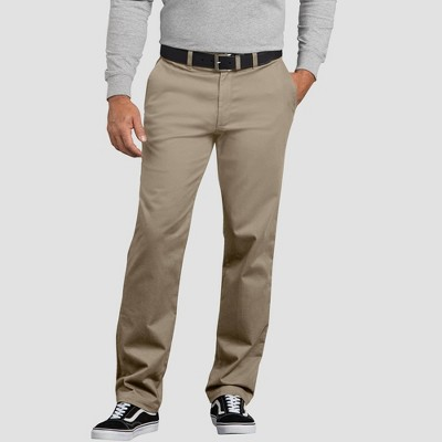 Dickies Men's X-Series Active Waist Slim Tapered Fit Washed Chino Pants