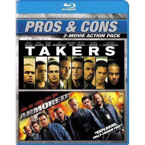 Armored / Takers (Blu-ray) - image 1 of 1