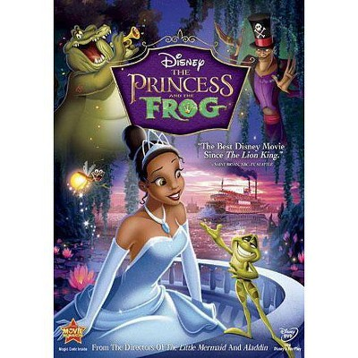 The Princess and the Frog (dvd_video)