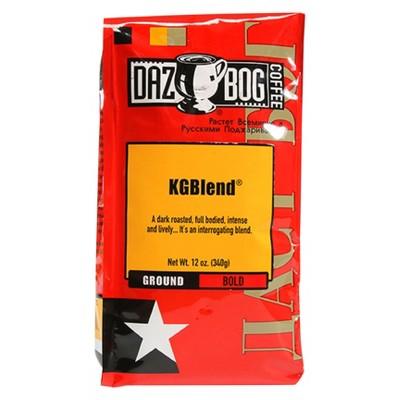 Dazbog KGBlend Dark Roast Ground Coffee - 12oz