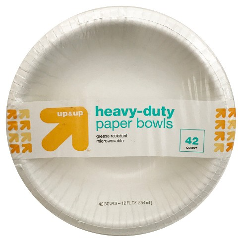 Heavy Duty Disposable Paper Bowls - 12oz 42ct - Up&Up™ - image 1 of 2