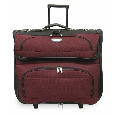 Travel Select Amsterdam Rolling Garment Bag - Red