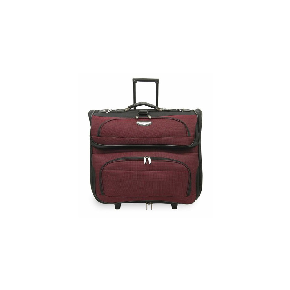 Travel Select Amsterdam Rolling Garment Bag - Red