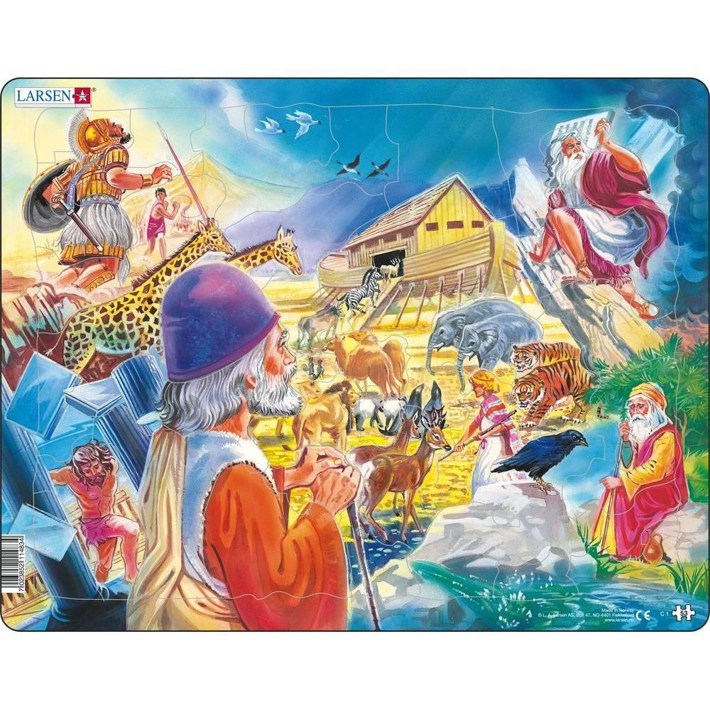 Springbok Larsen Old Testament 53 Children's Jigsaw Puzzle 53pc
