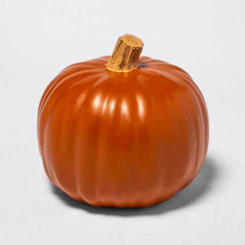 "9"" Orange Carvable Plastic Halloween Pumpkin - Hyde & EEK! Boutique™ - image 1 of 3"