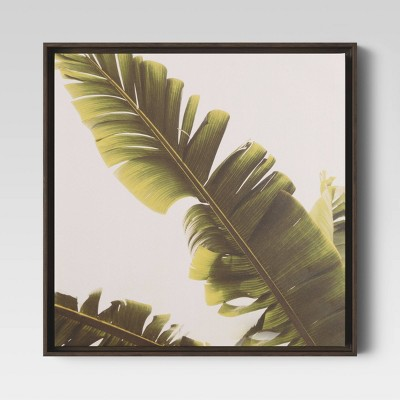 "20"" X 20"" Palm Framed Canvas - Project 62™"