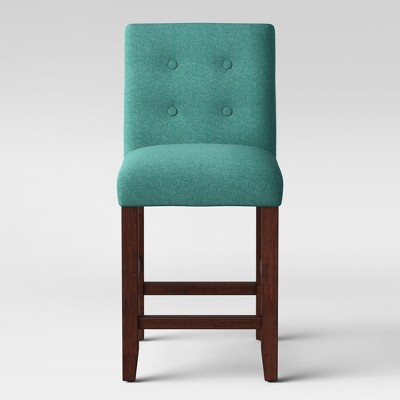 """24"""" Ewing Modern Counter Height Barstool with Buttons - Project 62™"""