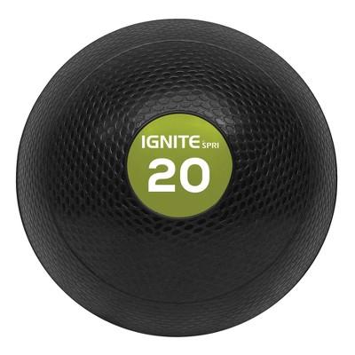 Ignite by SPRI® Slam Ball - Gray 10lb