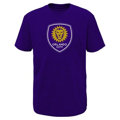 MLS Boys Poly T-Shirt Orlando City SC