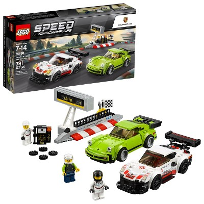LEGO Speed Champions Porsche 911 RSR and 911 Turbo 3.0 75888